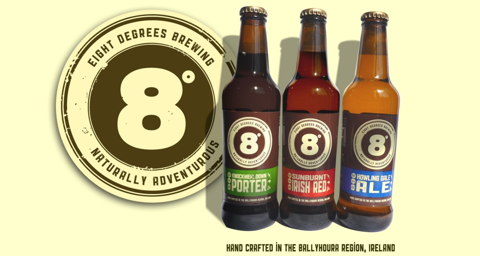 Eight Degrees Beers